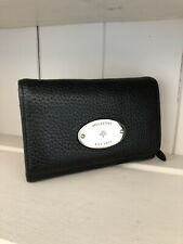 Mulberry Black French Purse