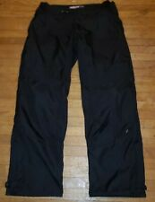 ICON OVERLORD PANTS SIZE 38 TEXTILE ARMORED BLACK ADJ WASTE 38 x 36 EXCELLENT