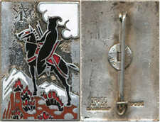 1° Régiment de Spahis Marocains, burnous noir, D.Ber.Dép., (H144)