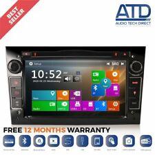 "7"" Car BT GPS Sat-Nav Radio CD DVD Stereo For Vauxhall Meriva Vectra C Zafira B"