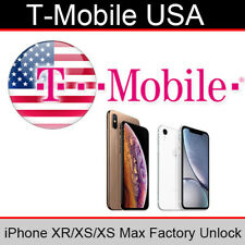 T Mobile USA iPhone XR/XS/XS Max Official Factory Unlocking Service