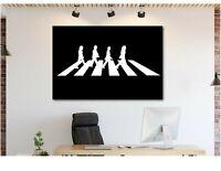 The Beatles Abbey Road - Canvas Wall Art Print - Various Sizes