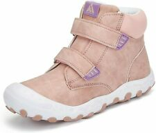 Mishansha Girls Pink Water Resistant Hiking Boots, Size 6 Big Kid.