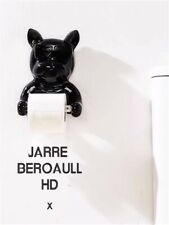 Frenchie Bulldog Toilet Roll Paper Hanger Holder Bathroom