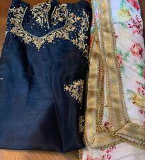 Indian Ethnic Punjabi Bollywood Salwar Kameez Ready To Wear Party Wear