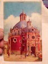 Antique/Vintage Postcard Mexico Watercolor Look El Pocito Fuschgrund?