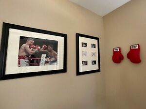 AUTHENTIC Arturo Gatti & Micky Ward Autographed GLOVES + FRAMED 16x20 and COA's