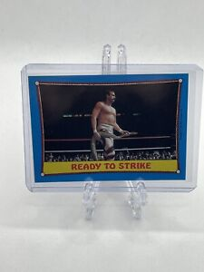 1987 Topps WWF Ready To Strike Jake The Snake Roberts Ringside Action