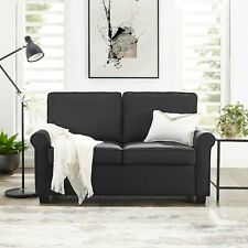 Pull Out Couch Sofa Sleeper Loveseat With Memory Foam Mattress Twin Size Bed