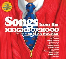 Songs From the Neighborhood Music Mr Mister Rogers CD DVD Amy Grant Donna Summer