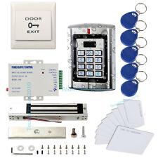 Standalone Metal Waterproof  Access Control Keypad(PROXCARDⅡ)Kit+600lbs Mag lock