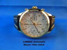 Relojes de pulsera Automatic de cuero de día y fecha