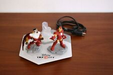 Disney Infinity Xbox360 board and avengers figures Iron Man and Falcon