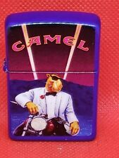 New ListingZippo 1993 Vintage Zippo Camel Joe Tuxedo Motorcycle Used
