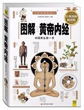 Inner Canon of Huangdi with picture explained Traditional Chinese Medicine book