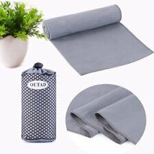 Travel Yoga Gym Bath Towel Fast Drying Ultra Absorbent Microfiber Towels WW