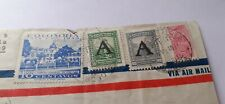 Stamps On Covers -item 1-columbia,brasil,Ecuador,Chile.argentina.used