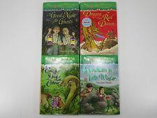Lot of 4 Mary Pope Osborne Hardback Magic Tree House Merlin chapter books AR 3-4