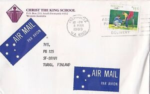 DB867) Solo use advertising cover to Finland. Golf. Price $6