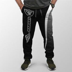 OAKLAND RAIDERS LAS VEGAS RAIDERS Sweatpants Polyester Sweats s.S-6XL Football