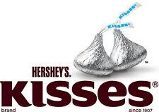 Hersheys kisses silver milk chocolate  4 lb Bulk kosher  400 pieces Candyland