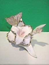 Lenox Springtime Blush Butterfly Classic Iris Sculpture - Perfect No Box