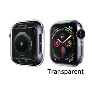 Apple Watch Series 4 5 6 SE 40/44mm Full Cover Snap On Screen Protector Case NEW