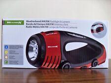 Weather X NOAA Band AM/FM Radio LED Flashlight Lantern Dynamo Hand Crank WF382R