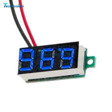 DC 4.7-30V Mini LED Panel Voltage Meter 3-Digital Adjustment Voltmeter 4 Color