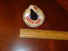 Vintage Rare Ship Boat QUEEN MARY LONG BEACH CALIFORNIA SOUVENIR SEW ON PATCH