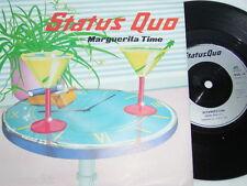 """7"""" - Status Quo / Marguerita Time & Resurrection - UK MINT # 1564"""