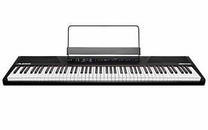 Keyboard Alesis Recital 88 Tasten Einsteiger digital Klavier Tasteninstrument