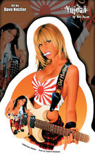 Hot Sexy Blonde School Girl Get Plucked Guitar  Vinyl Sticker Decal Nestler