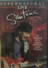 Santana - Supernatural Live (DVD, 2000)