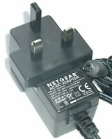NETGEAR MV12-Y120100-B2 AC/DC POWER SUPPLY ADAPTER 12V 1.0A UK PLUG 332-10180-01