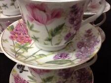 7 oz Coffee 12 Pc Cup Saucer Set Cappuccino Tea Coffee # 14927