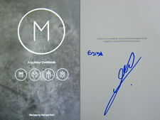 Signed Book M: A 24 Hour Cookbook by Michael Reid (Hardback, 2016) First Edition