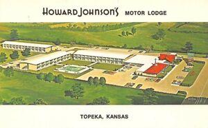 Howard Johnson's Motor Lodge motel Topeka Kansas