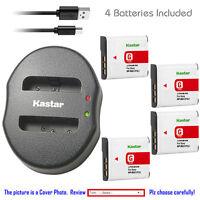 Kastar Battery Dual Charger for Sony NP-BG1 NPFG1Sony Cyber-shot DSC-N2 Camera
