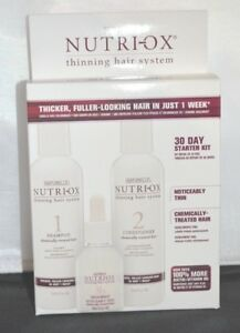 Nutri-Ox Starter Kit for Noticeably Thin-Chemically Treated Hair- 3 Step Process