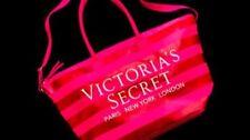 Victoria's Secret Weekender Tote Pink Cotton Canvas Bag Handbag NWT