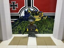 LEGO WWII LEGO German High Command General with Waffen Visor Hat & Luger