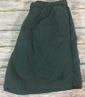 Nautica Mens Swim Trunks Shorts Green Lined Pockets Size Large