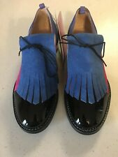 Inch2 Womens Oxford Shoes Size 37 US 7 Multi Color