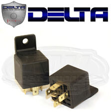 Delta Tech 05-2000-12 Headlight Relay 5 Prong Spade Terminal 30 Amp Universal