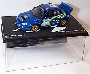 Subaru Impreza WRC 2003 Petter Solberg Phil Mills Ixo Eaglemoss new in case