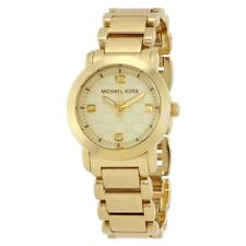 Michael Kors MK3158 Stainless Steel Gold Plated Women's Watch