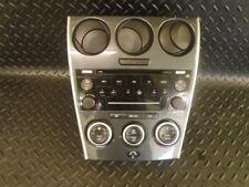 2007 MAZDA 6 2.0d TS 5DR ESTATE RADIO CD PLAYER & HEATER CONTROLS PANEL