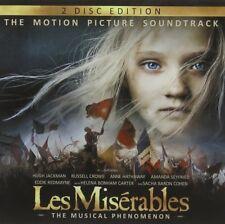 Les Misérables Cast - Les Misérables: The Motion Picture Soundtrack De (NEW 2CD)