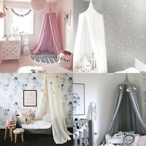 Children Crib Bed Canopy Cover Mosquito Net Princess Dome Tent Bedding